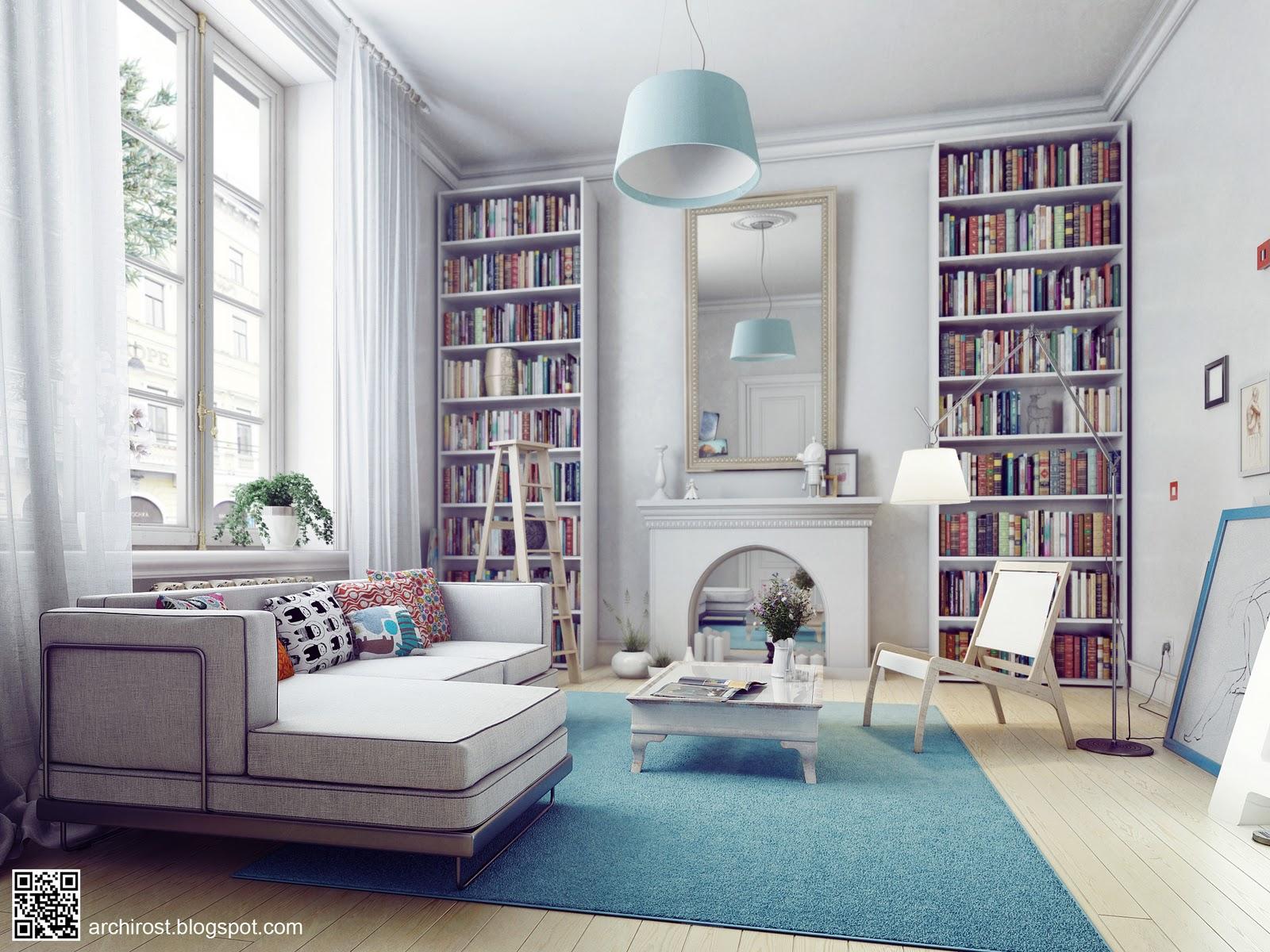 Самые красивые дизайны комнат