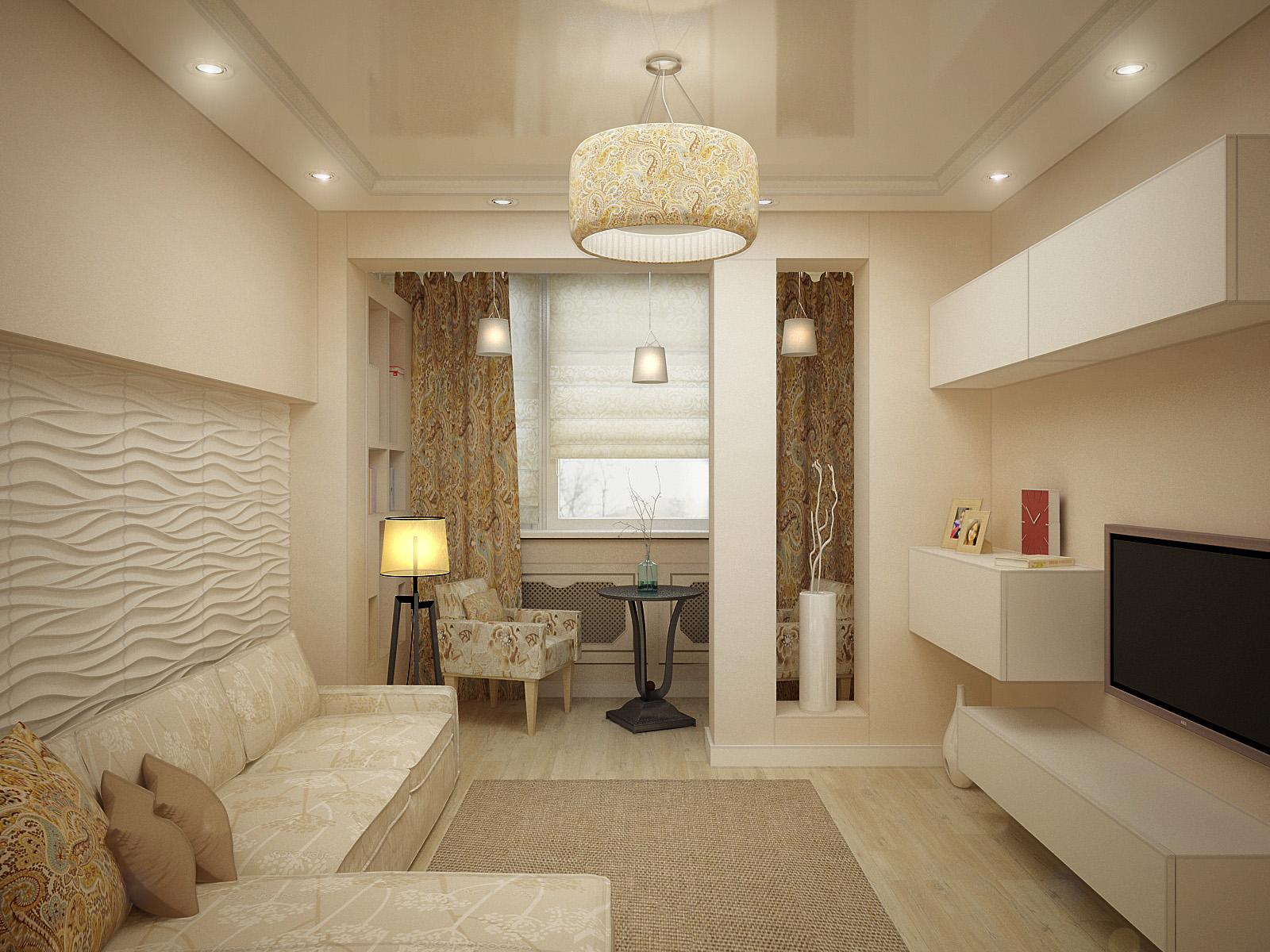 Дизайн интерьера гостиной 17 кв.м фото